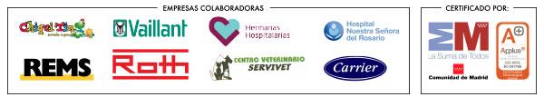 Colaboradores y Certificados Cursos 2014 en Madrid - Escala, Escuela de Formación Laboral