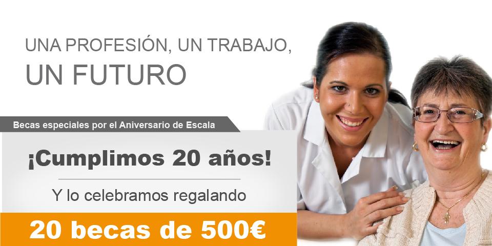 Becas para Cursos de Formación Laboral en Madrid - Atención a personas dependientes