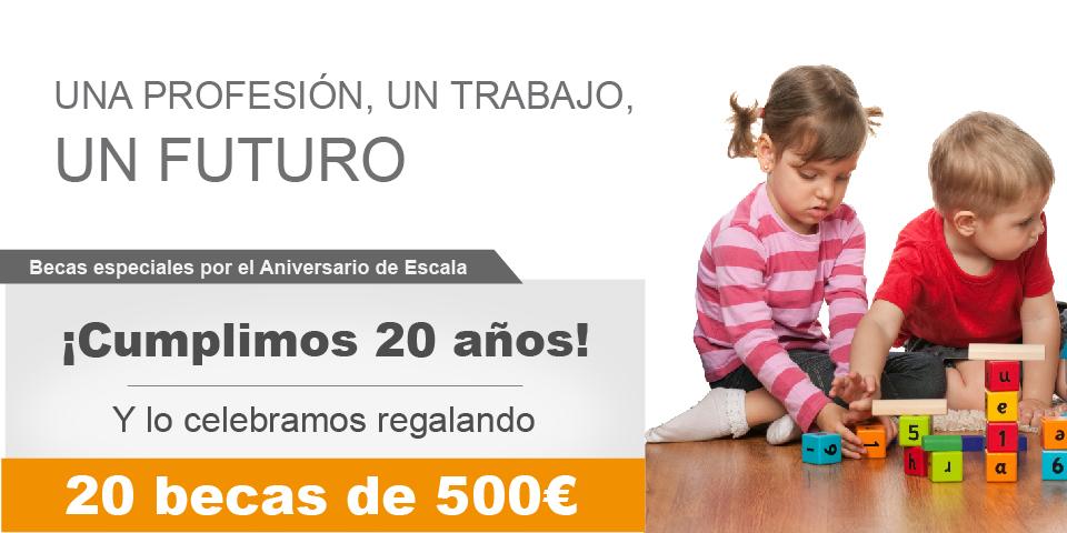 Becas para Cursos de Formación Laboral en Madrid - Auxiliar de guardería