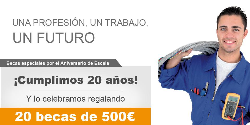 Becas para Cursos de Formación Laboral en Madrid - Instaladores oficiales